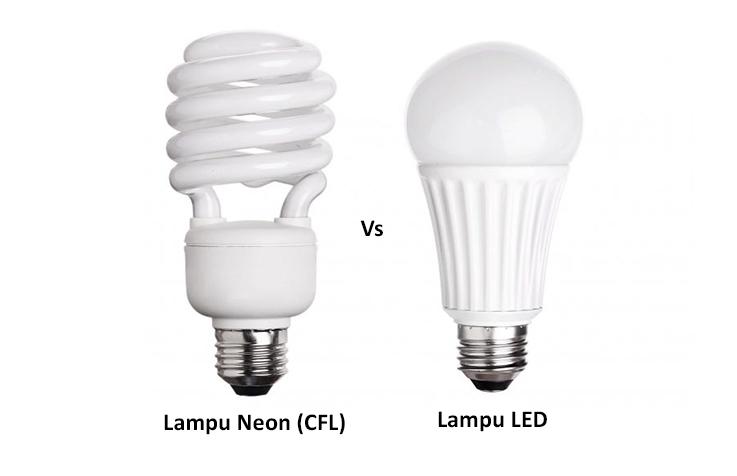 lampu neon dengan lampu led lebih efisien yang mana blog ravelware. Black Bedroom Furniture Sets. Home Design Ideas